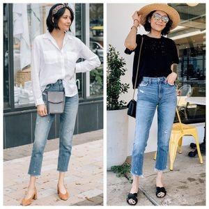 Abercrombie Mom Jeans Blogger Favorite sz 6